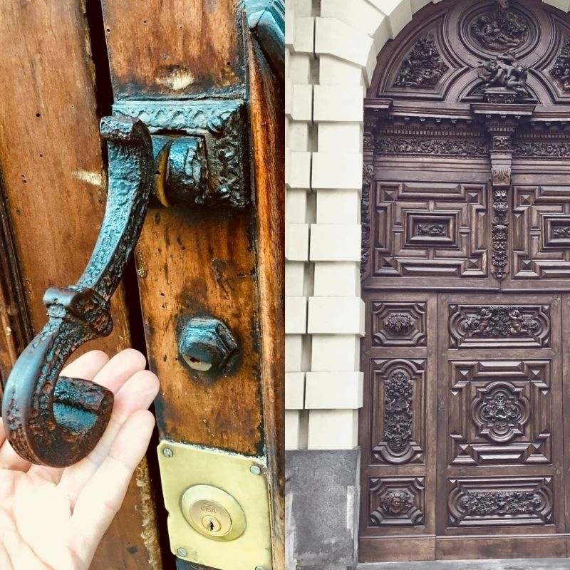 Portoni storici e arredi urbani a Torino
