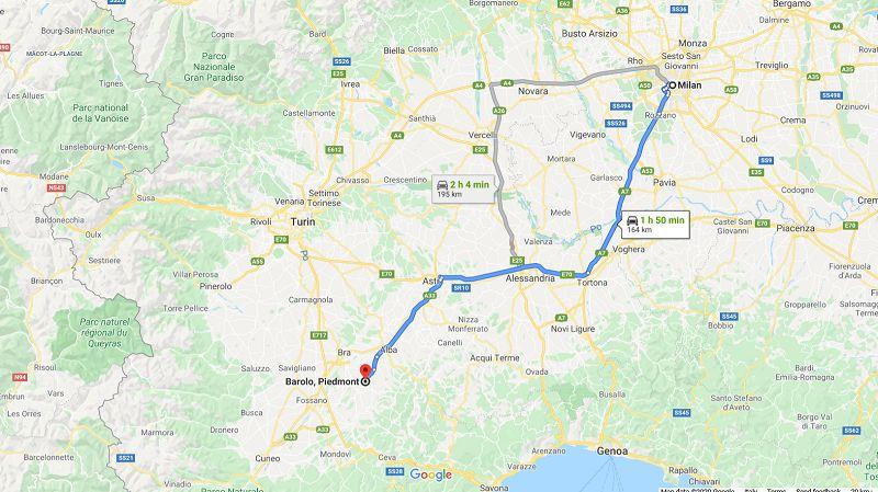 mappa milano barolo