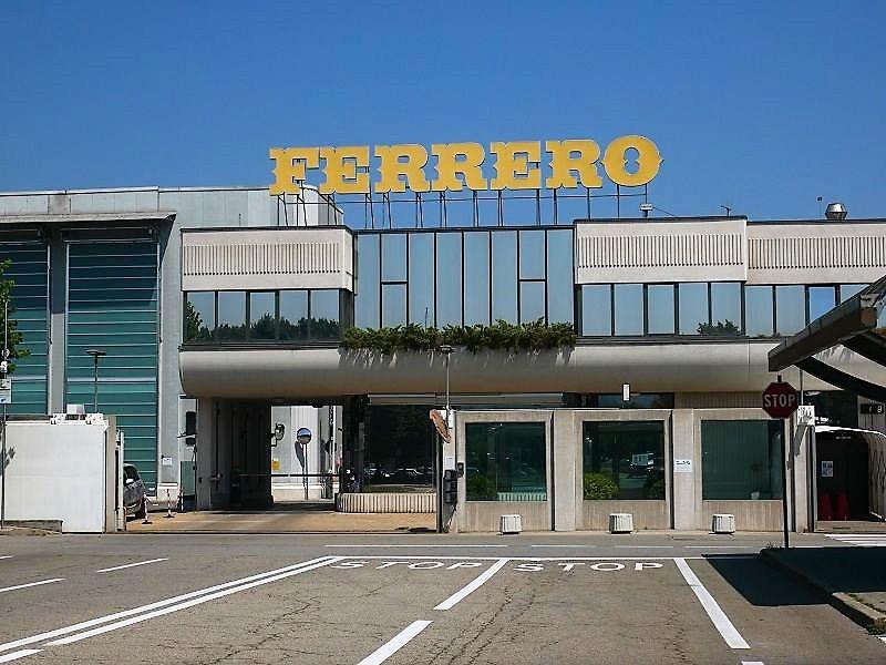 Stabilimento Ferrero ad Alba