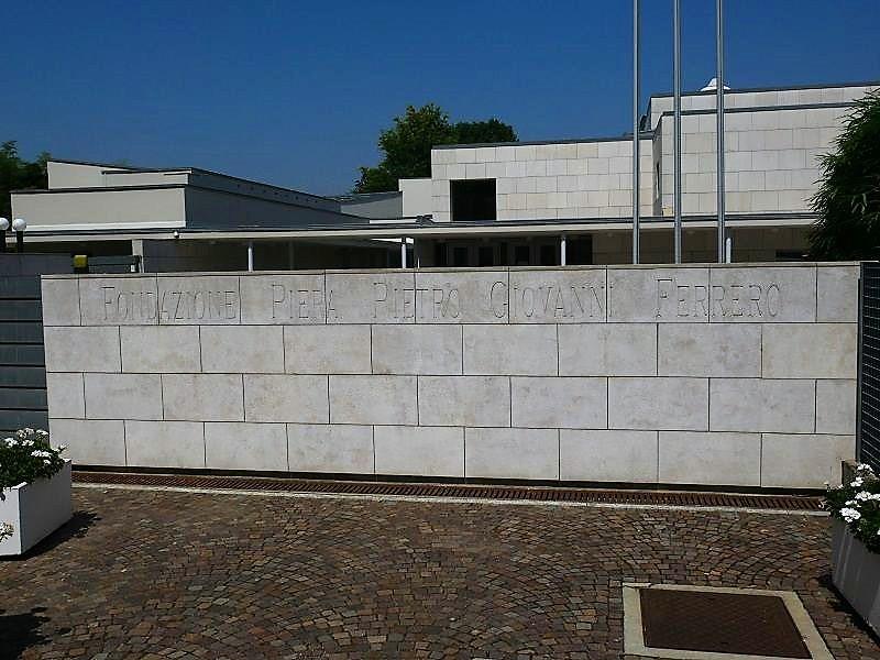 Ferrero Foundation main gate