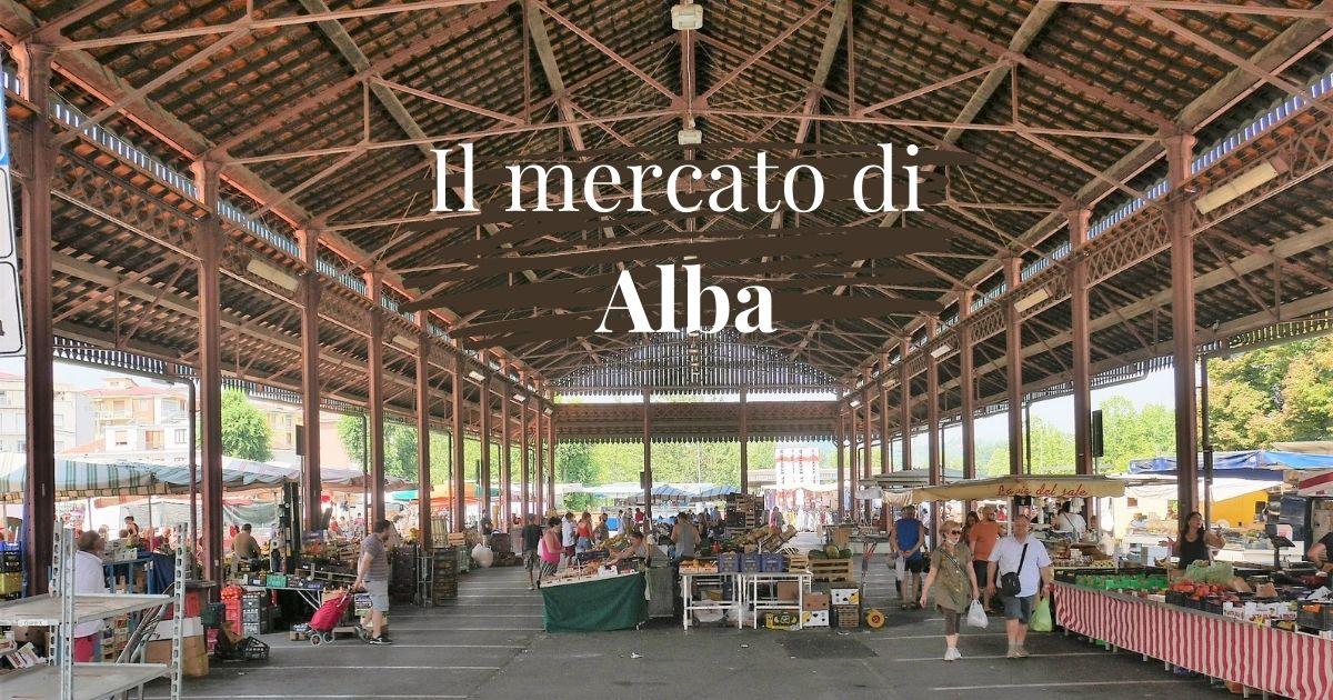 Il mercato di Alba