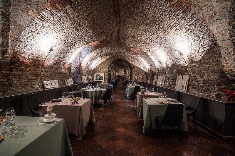 Guido Da Costigliole, restaurant at Relais San Maurizio
